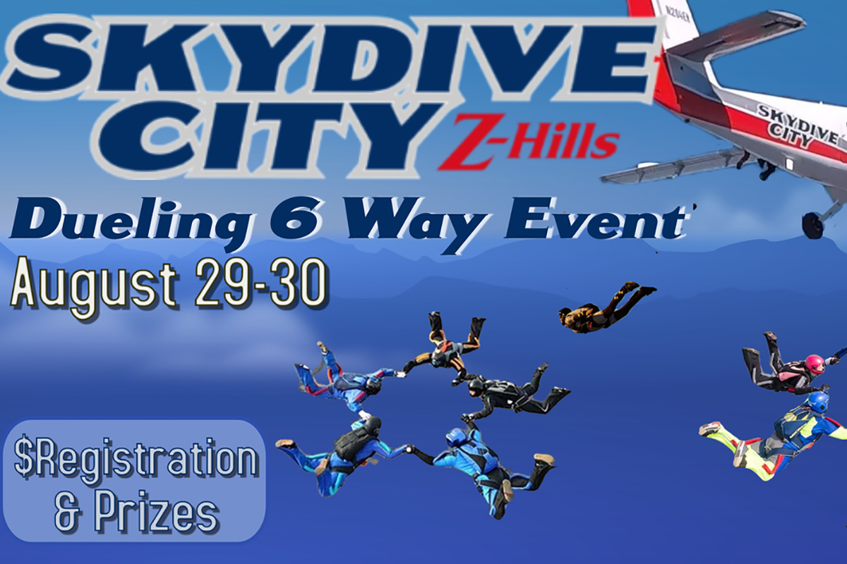 Skydive City Z-Hills Dueling 6 Way Event