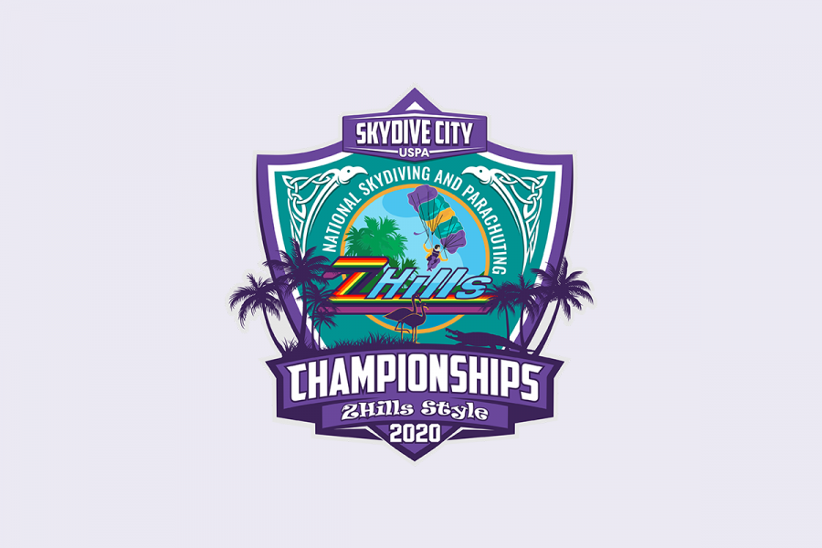 Skydive City 2020 Nationals logo