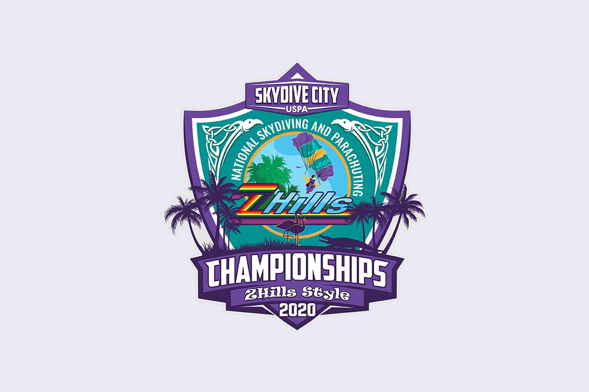 Skydive City 2020 Nationals logo