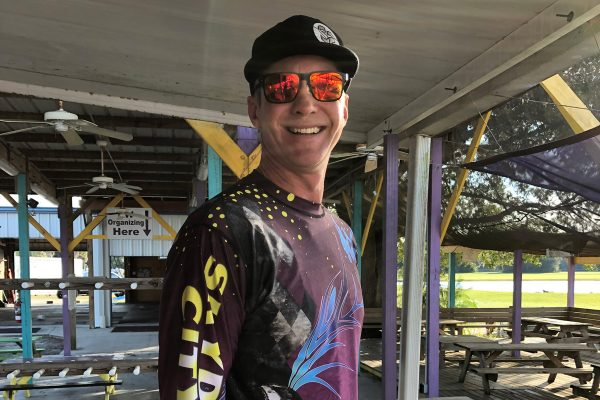 Cameron King happy to be at Skydive City near Tamp Florida