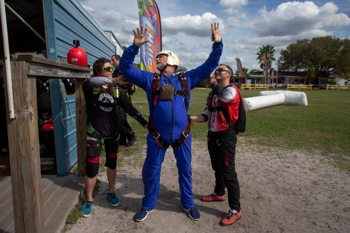 AFF Student in training at Skydive City's Florida's Best Skydiving School ™
